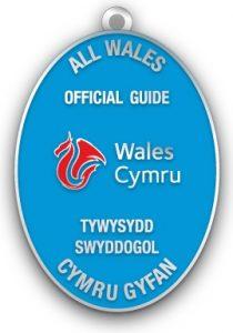 Wales Official Tourist Guides Association (Enamel) 9